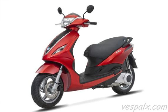 Piaggio Fly 2012 màu đỏ